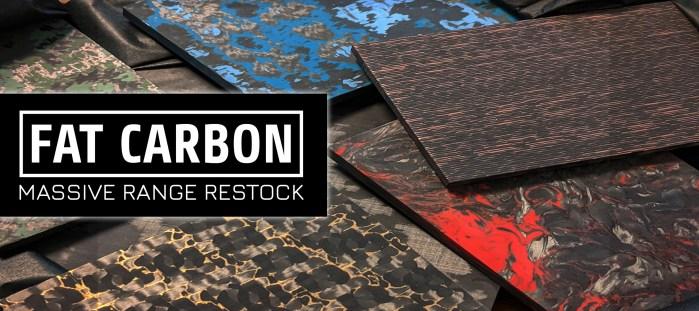 Fat carbon restock