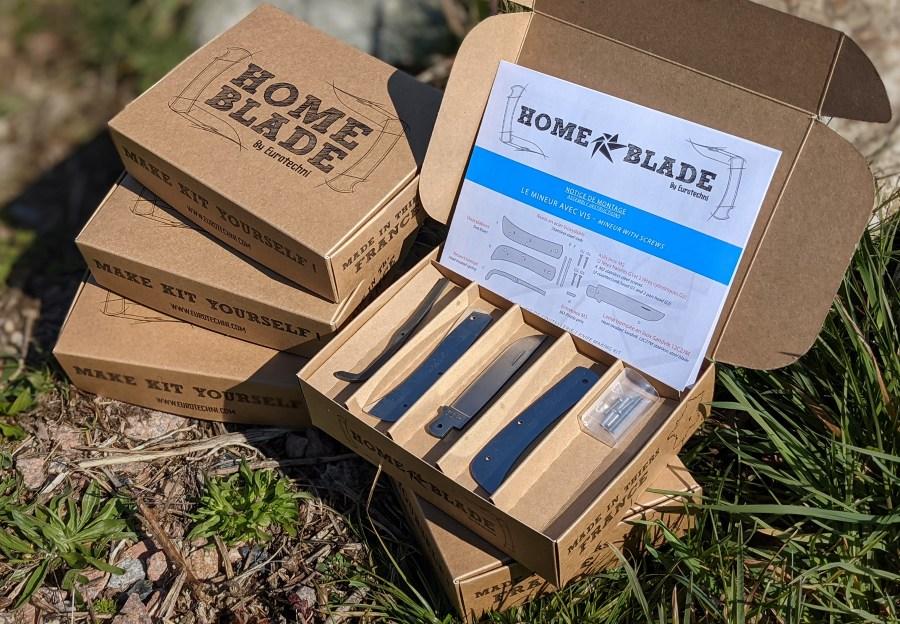 Home Blade knifemaking kits