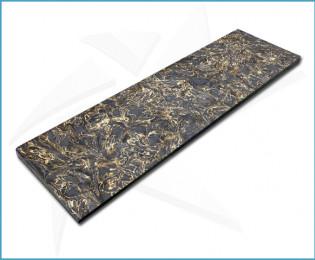 Plaquettes fibre carbone - Dark Matter Gold