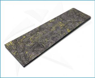 Plaquettes fibre carbone - Dark Matter Jaune