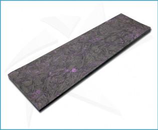Plaquettes fibre carbone - Dark Matter Violet