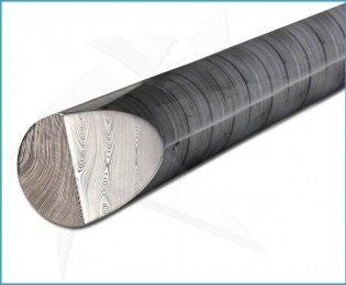 Damasteel® DS93X - Round Dense Twist