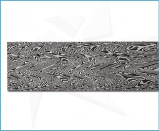 Forged carbon damascus - Turkish