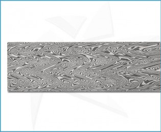 Forged stainless steel damascus - Turkish