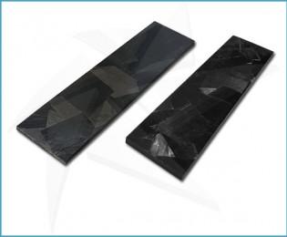 Random carbon fiber scales