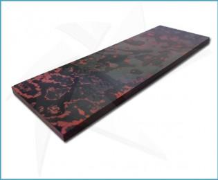 Lava Flow carbon fiber scales