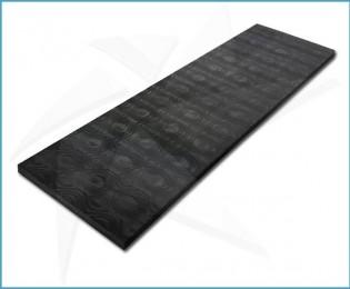 Plaquettes fibre de carbone - UniBlack