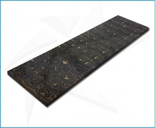 Plaquettes fibre de carbone - UniGold
