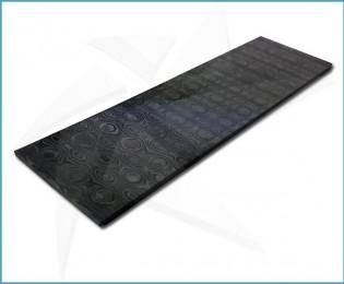 Plaquettes fibre de carbone - UniTitanium