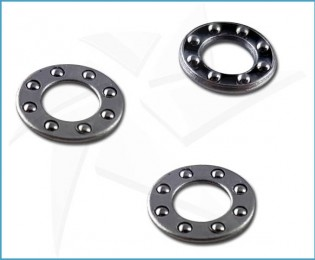 Stainless steel ball bearings for Ø4mm pivots