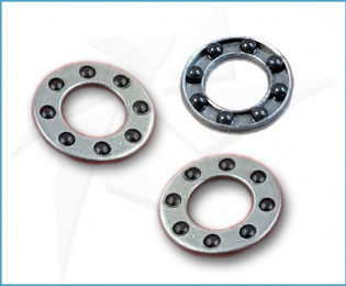 Ceramic ball bearings for Ø4mm pivots