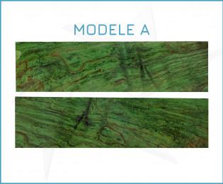 Plaquettes hêtre échauffé stabilisé - vert